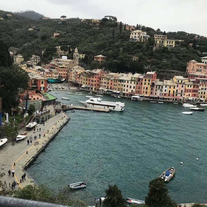 Vista panoramica Portofino