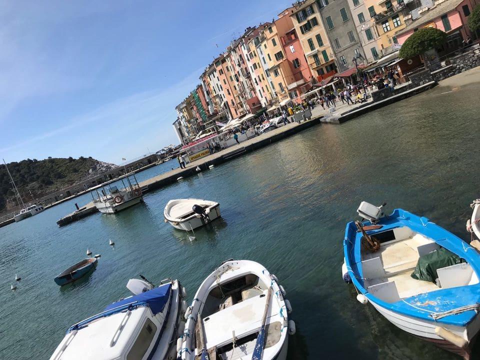 Marina barcos Porto Venere