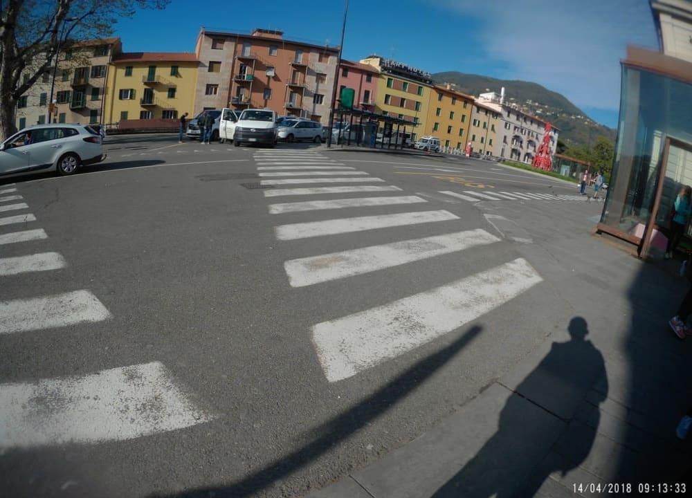 Ponto ônibus La Spezia