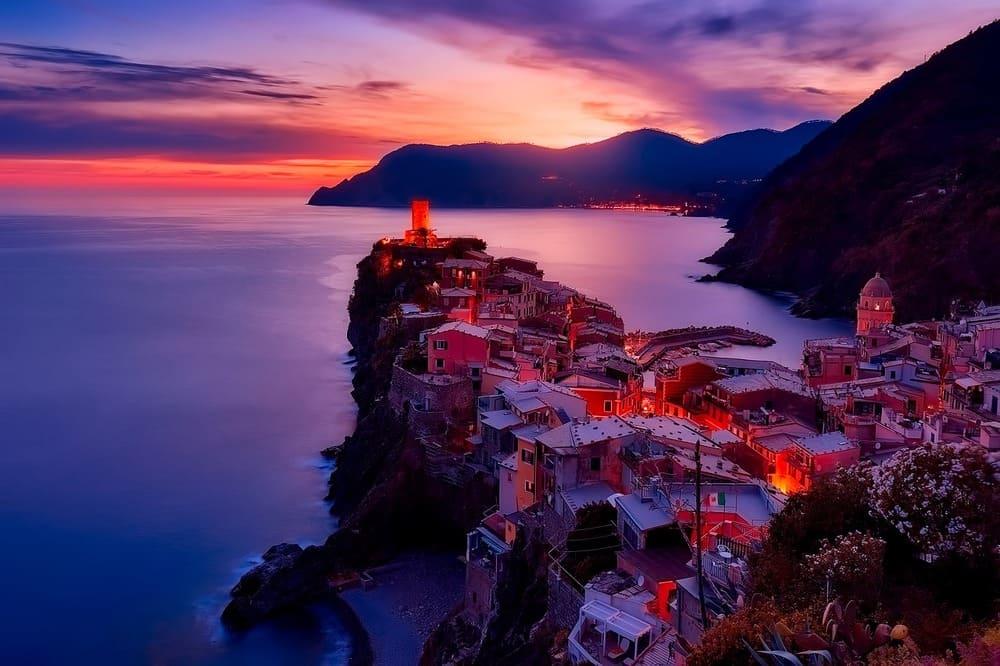 Vernazza a noite - Cinque Terre