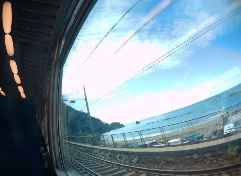 Viagem trem para Cinqueterre