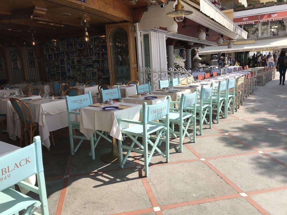 Restaurantes a beira mar - Positano