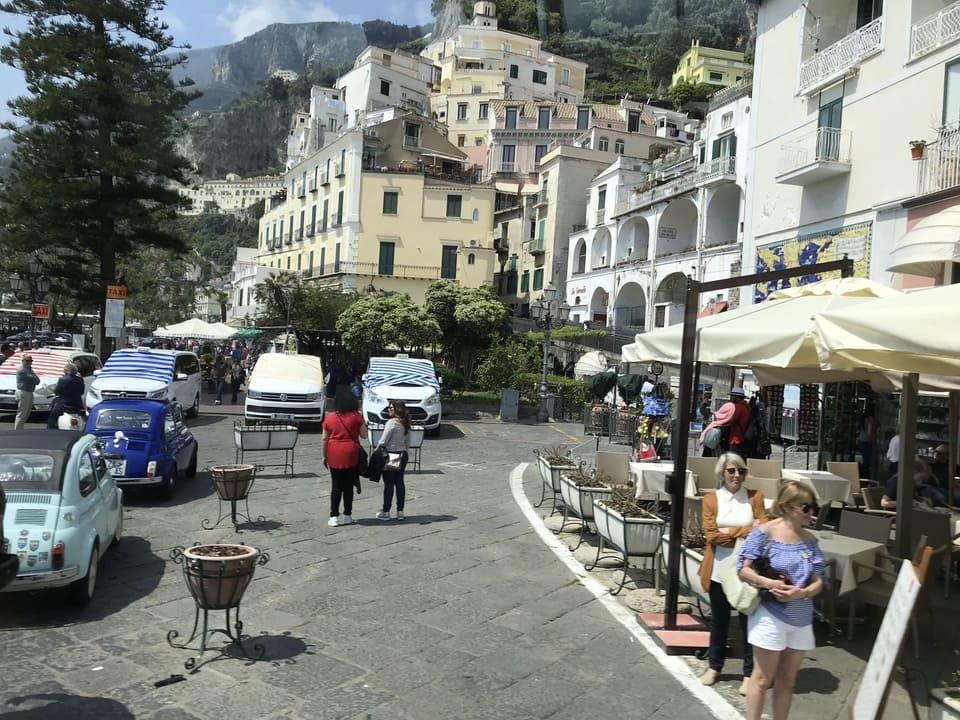 Cais em Amalfi