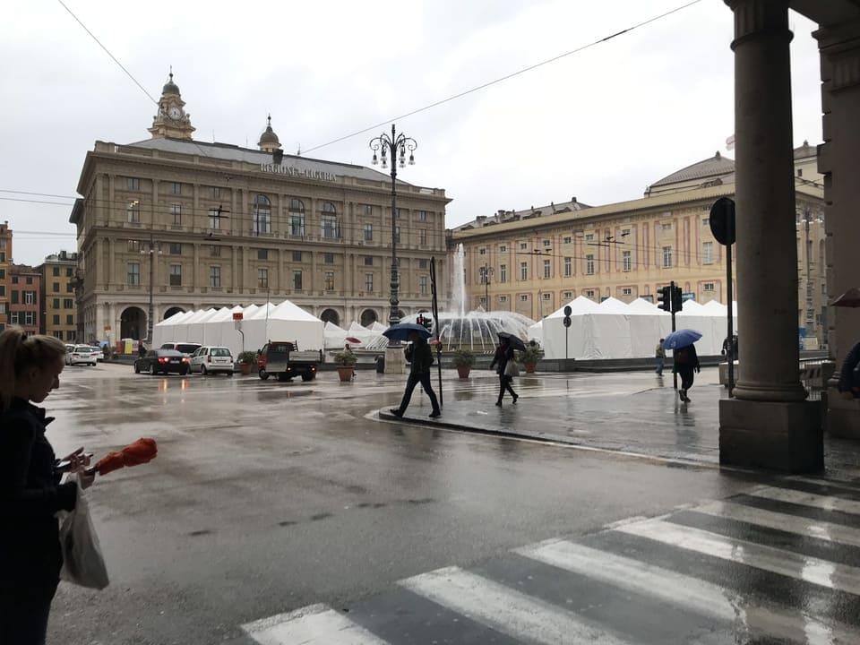 Chafariz - Piazza Ferrari - Genova