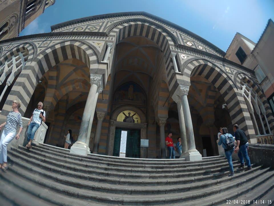 Detalhes Duomo de Amalfi