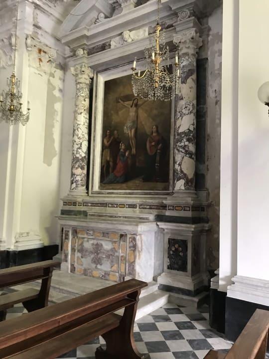 Detalhe Igreja Sao Jorge - Portofino