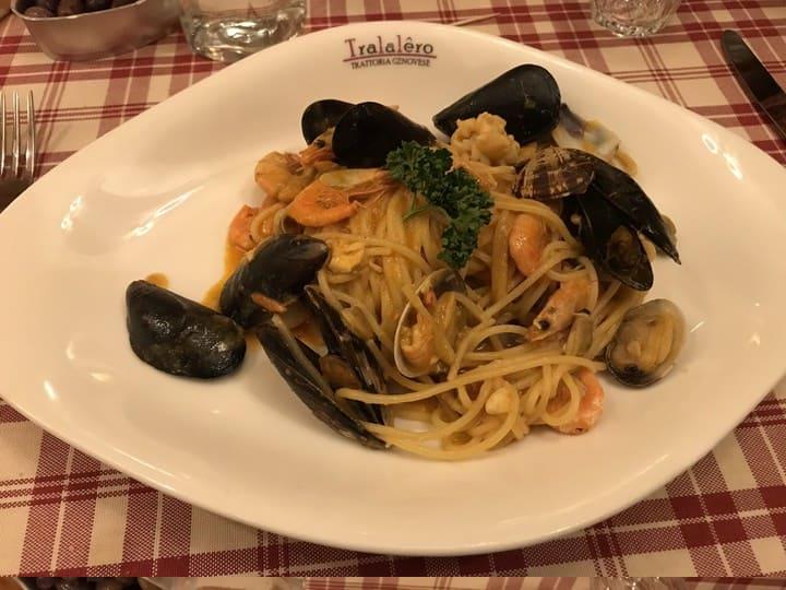 Espaguete ao vongole - Napoles