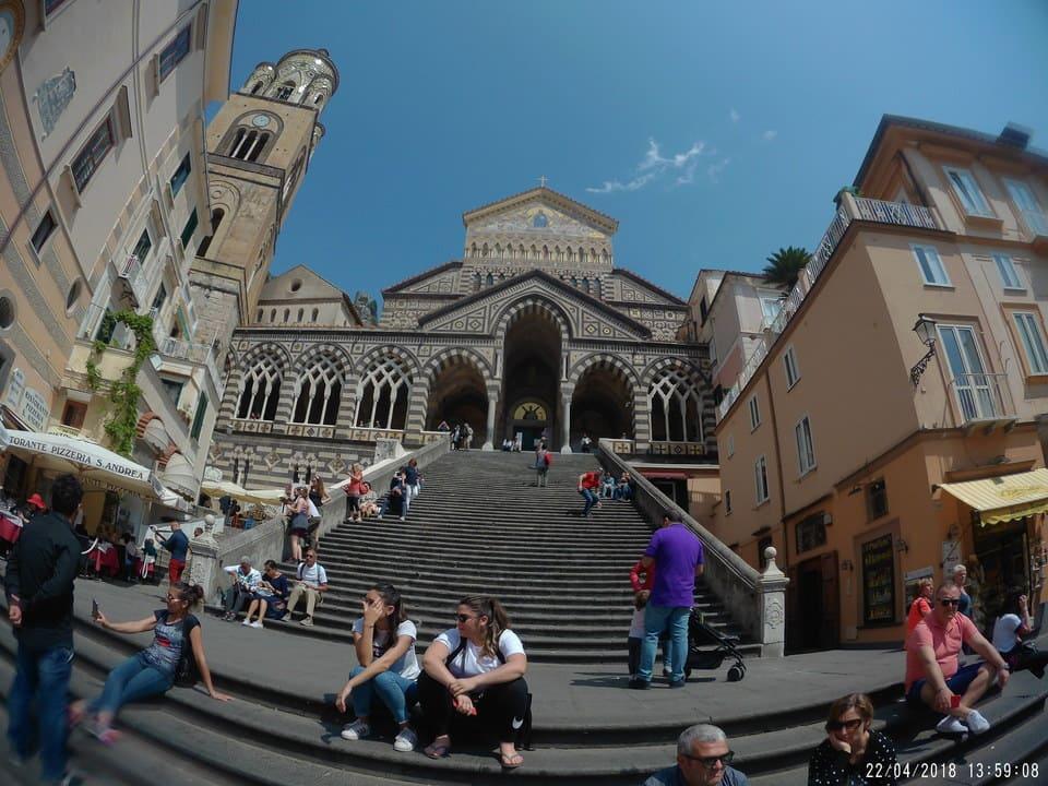 Fachada Duomo Amalfi