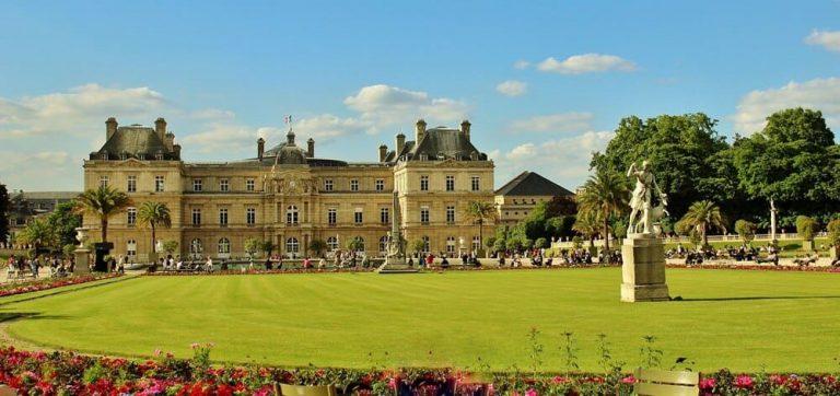 Vista Jardim Luxemburgo - Paris