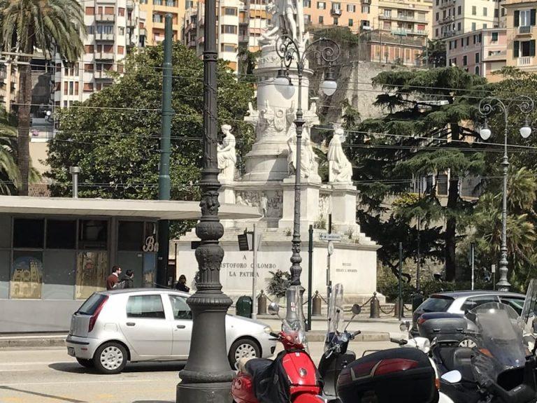 Homenagem Cristovao Colombo em Genova