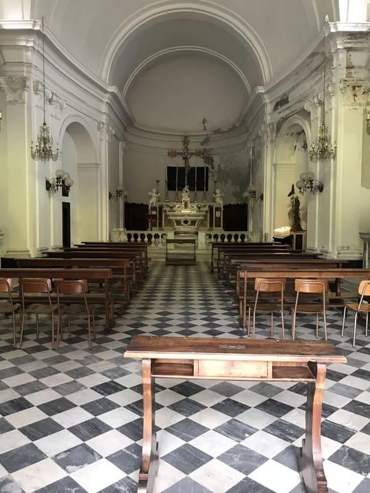 Altar Igreja São Jorge - Portofino