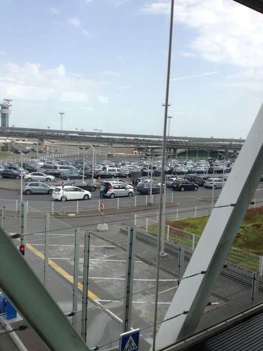Vista aeroporto Orly - Paris
