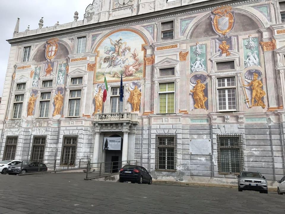 Palacio San Giorgio em Genova - Seculo XIII