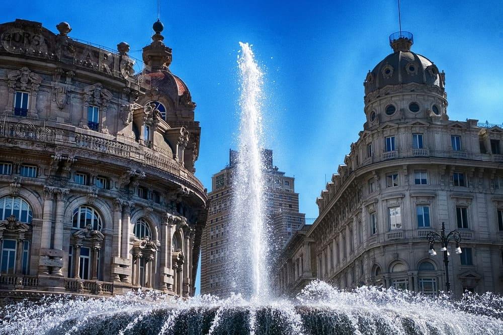 Piazza di Ferrari - Genova