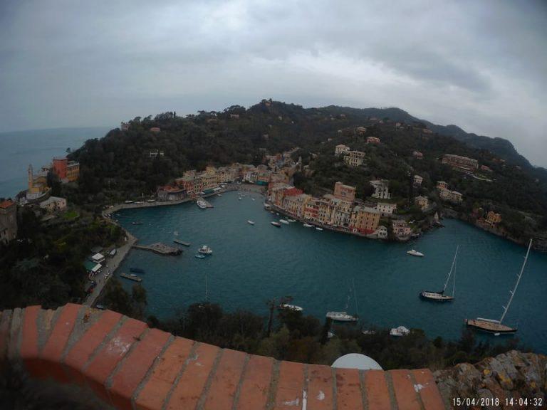 Vista aerea Portofino