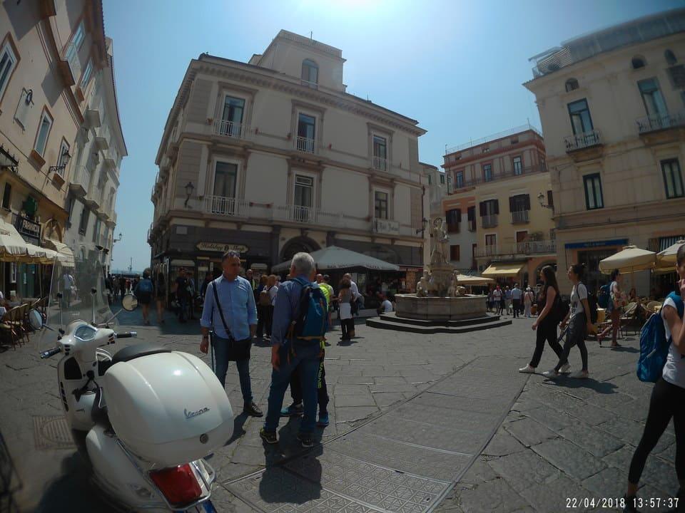 Praça principal Amalfi