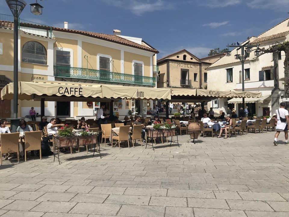 Praça principal Ravello