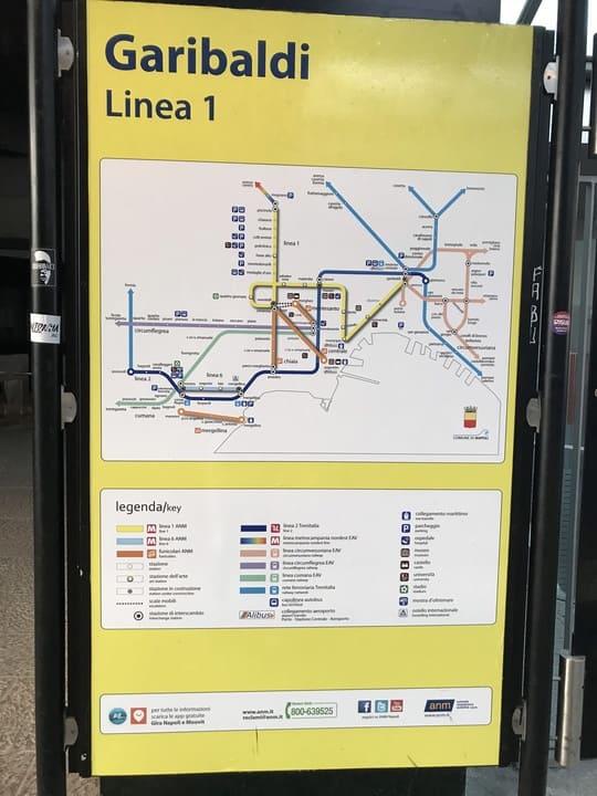 Rede metro - Napoles