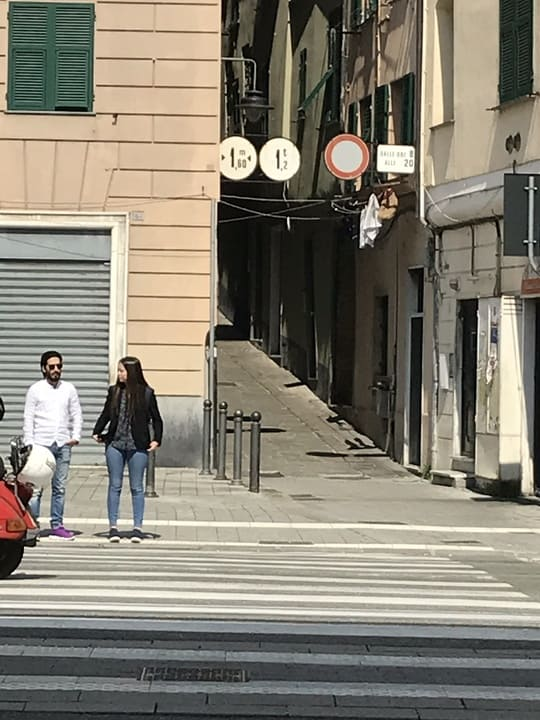Ruas - centro antigo - Genova