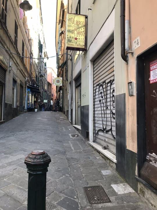 Ruelas - Centro antigo Genova