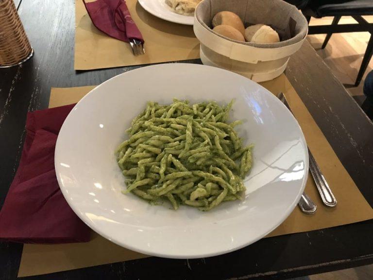 Gastronomia Genova: Trofie ao pesto