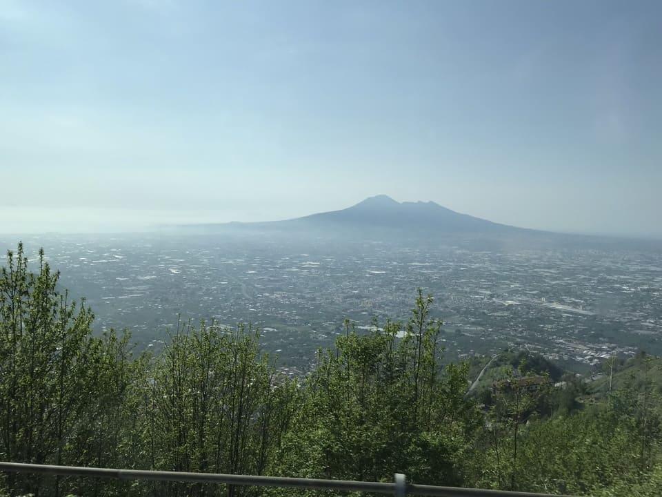 Vista Vulcão Vesuvio - Napoles